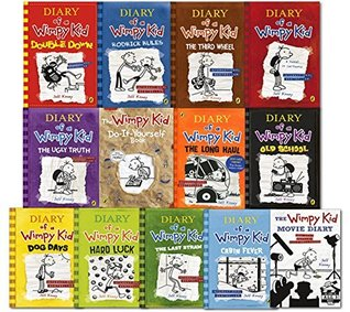 Diary of a wimpy kid collection 13 books set by jeff kinney 33234337 solutioingenieria Images