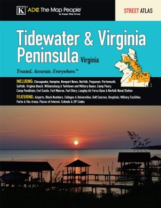 Tidewater & Virginia Peninsula, VA Street Atlas