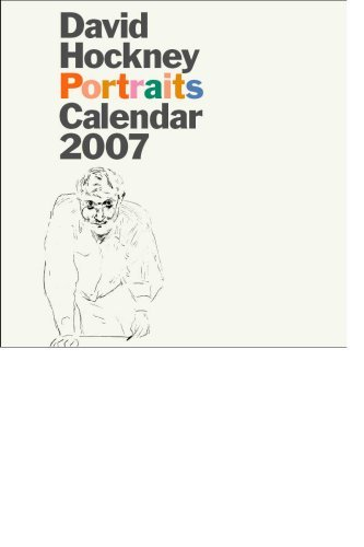 David Hockney Portraits Calendar