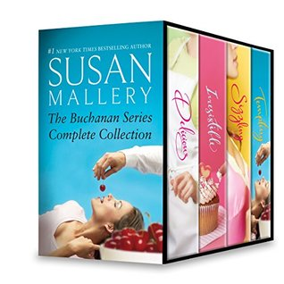 The Buchanan Series #1-4: Delicious \ Irresistible \ Sizzling \ Tempting