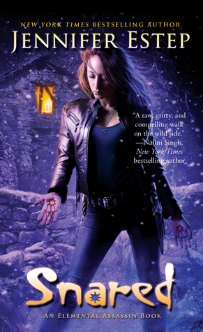Interview and Review: Snared by Jennifer Estep (@Jennifer_Estep, @Pocket_Books, @LetsTalkLTP)