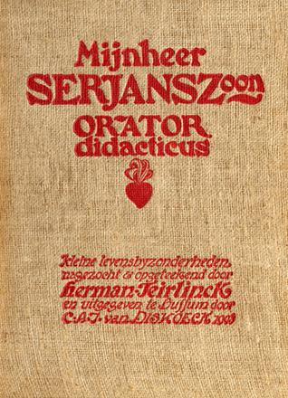Mijnheer J.B. Serjanszoon, orator didacticus