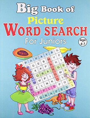 Big Book of Picture Word Search for Juniors (Big Book for Juniors Series)
