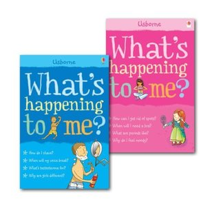 What's Happening to Me? Collection 2 Books Set, (What's Happening to Me? (Girls Edition)