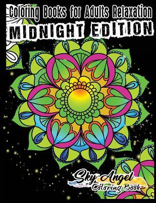 Coloring Books for Adults Relaxation: Mandala Coloring Books for Adults: Adult Coloring Books Mandala Designs, Mystical, Mandala Coloring Books for Relaxation, Meditation and Happiness