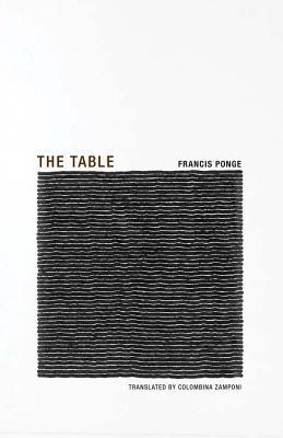 Image result for Francis Ponge, The Table,