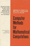 Computer Methods for Mathematical Computations