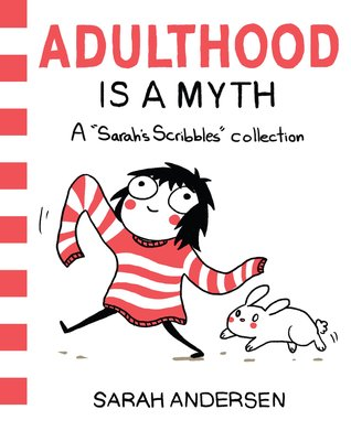 Book cover for Adulthood is a Myth