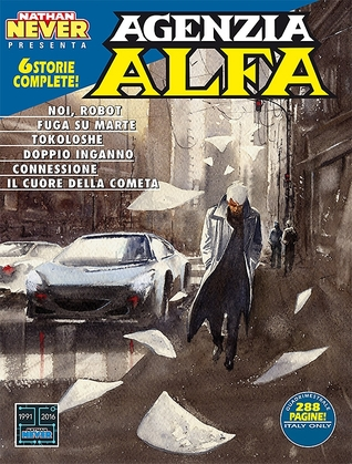 Agenzia Alfa n. 37: Noi, robot - Fuga su Marte