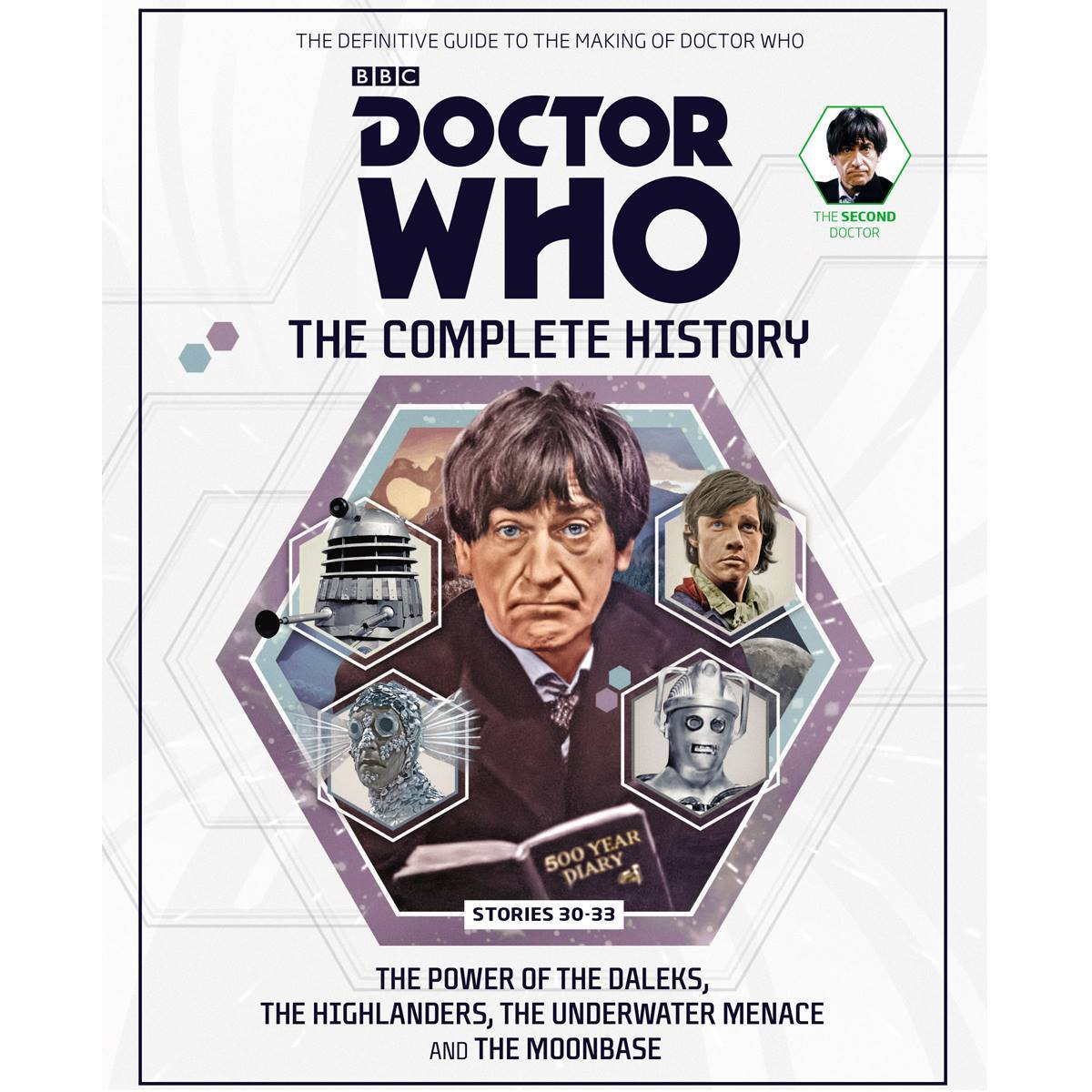 Doctor Who: The Complete History - Stories 30-33 The Power of the Daleks, The Highlanders, The Underwater Menace and The Moonbase (Doctor Who: The Complete History, #34)