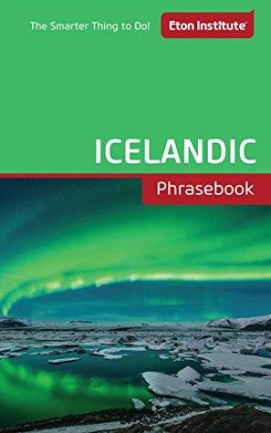 Icelandic Phrasebook (Eton Institute - Language Phrasebooks)
