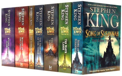The Dark Tower Series Collection: The Gunslinger, The Drawing of the Three, The Waste Lands, Wizard and Glass, Wolves of the Calla, Song of Susannah, The Dark Tower
