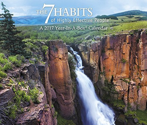 The 7 Habits of Highly Effective People Year-In-A-Box Calendar (2017)