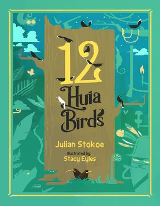 12 Huia Birds by Julian Stokoe