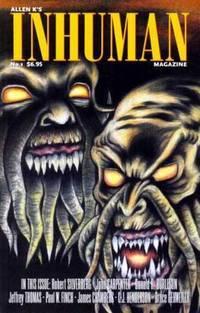 Allen K's Inhuman Magazine #1, July 2004
