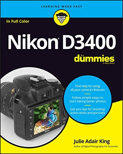 Nikon D3400 For Dummies (For Dummies