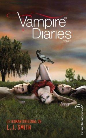 Journal d'un vampire 1 avec affiche de la série TV en couverture