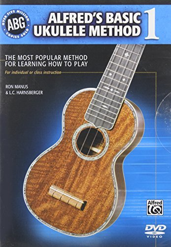 Alfred's Basic Ukulele Method 1: The Most Popular Method for Learning How to Play
