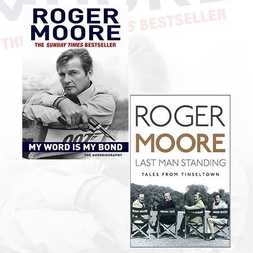 Roger Moore Biography Collection 2 Books Bundle