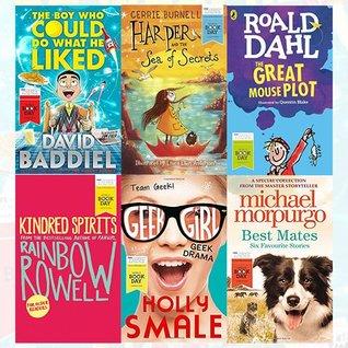 World Book Day Children Books Collection 6 Books Bundle