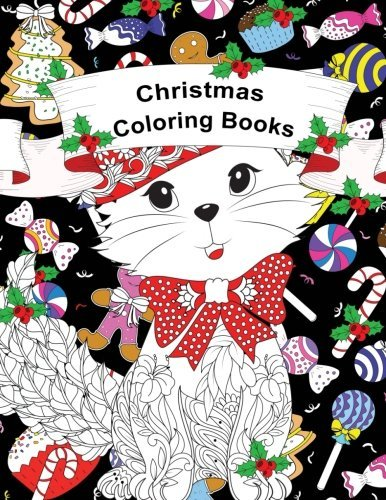 Christmas Coloring Books: Christmas Coloring Books for Adults Relaxation