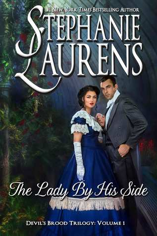 The Lady By His Side (Devil's Brood trilogy, #1; Cynster Next Generation, #4)