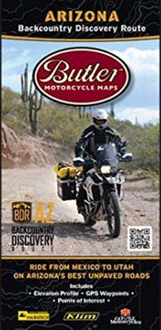 Arizona Backcountry Discovery Route Motorcycle Map