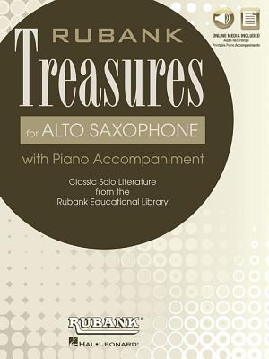 Rubank Treasures for Alto Saxophone: Book with Online Audio