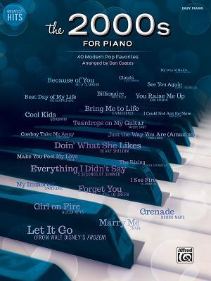 Greatest Hits -- The 2000s for Piano: 40 Modern Pop Favorites