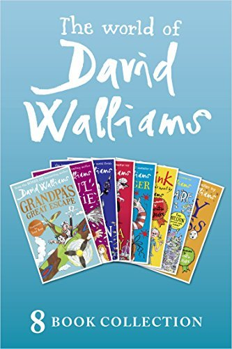 The World of David Walliams: 8 Book Collection: Grandpa's Great Escape / Awful Auntie / Demon Dentist / Gangsta Granny / Ratburger / Mr Stink / Billionaire Boy / The Boy in the Dress