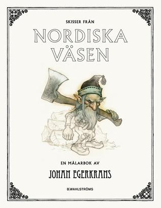 Skisser från Nordiska väsen: en målarbok