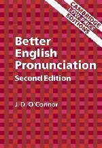 Better English Pronunciation Book Only