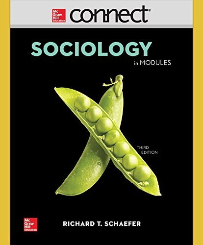 Connect Access Card for Schaefer Sociology in Modules 3/E