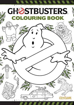 Ghostbusters Doodle Colouring Book