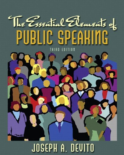 MySpeechLab with Pearson eText -- Standalone Access Card -- for Essential Elements of Public Speaking (3rd Edition)