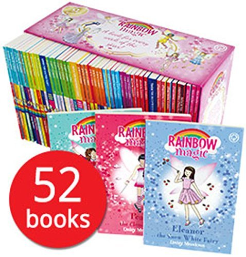 A YEAR OF RAINBOW MAGIC BOXED COLLECTION 52 BOOKS SET, NULL