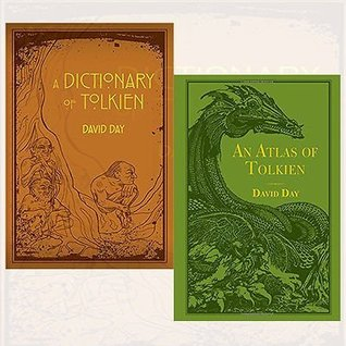 David Day Tolkien Collection 2 Books Bundle