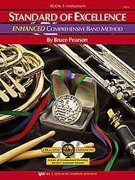 Standard of Excellence Enhanced Book 1 Baritone TC