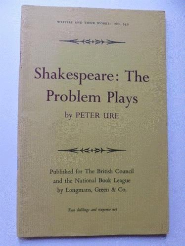 Shakespeare: Problem Plays