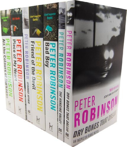Peter Robinson Inspector Banks 7 Books Collection Set RRP: £52.93