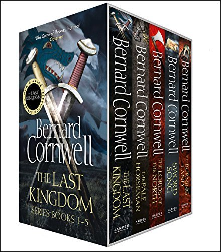 The Last Kingdom 5 Book Set (The Last Kingdom, The Pale Horseman, Lords of the North, Sword Song, The Burning Land)