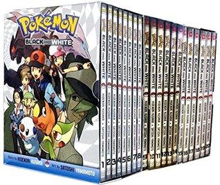 Pokemon Black & White Box:Set (Volumes 1-20) Children Collection 20 Books Set