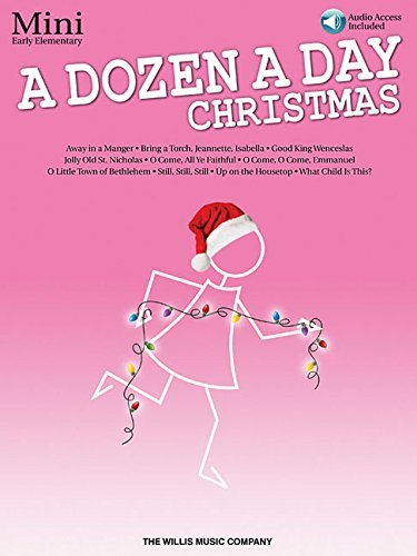 A Dozen a Day Christmas Songbook - Mini: Early Elementary Level