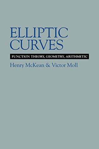 Elliptic Curves: Function Theory, Geometry, Arithmetic (Cambridge Tracts in Mathematics