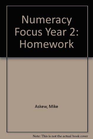 Numeracy Focus Year 2: Homework
