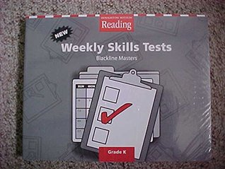 Houghton Mifflin Reading: Weekly Skills Test BLMs and TAE Grade K