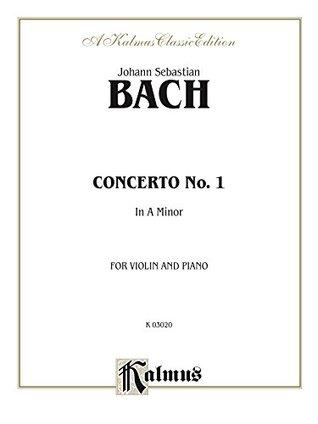 Violin Concerto in A Minor: For Violin and Piano