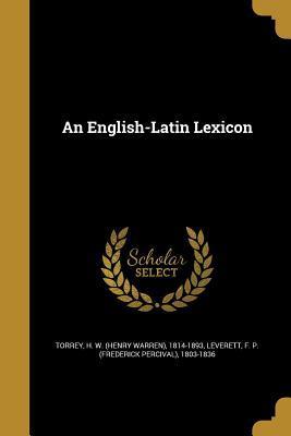 An English-Latin Lexicon
