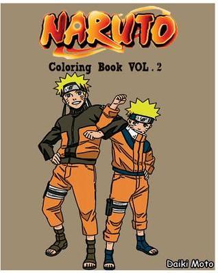 Naruto: Coloring Book (Vol.2): Sketch Coloring Book
