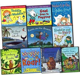 Julia Donaldson Collection 10 Books Pack Set